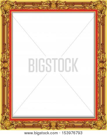 Frame Luies Vector