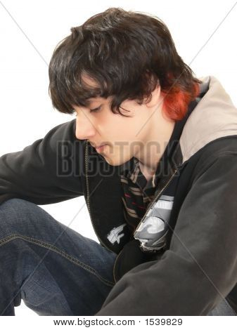 Teen Boy Sitting  60776