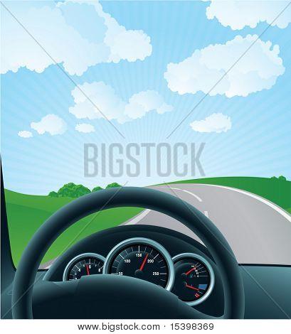 Highway. Vector