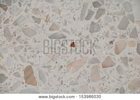 stone marble Terrazzo Floor texture background pattern and color