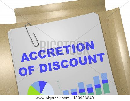 Accretion Of Discount Concept