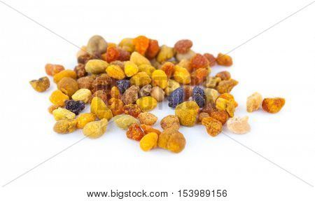 Pile of bee pollen, ambrosia