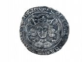 Hammered silver groat of Henry VI minted at Calais 1430-1431 diameter 27mm poster