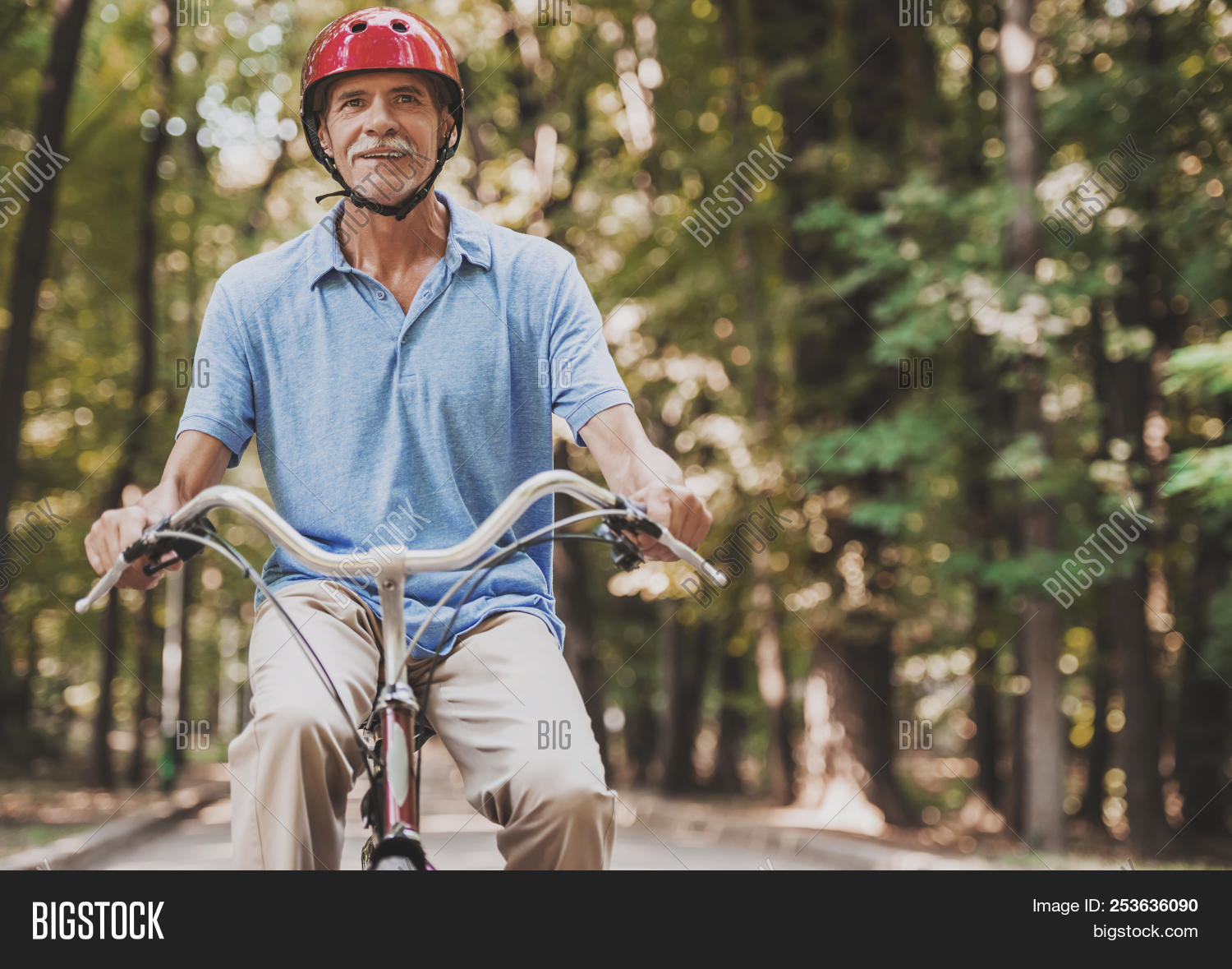 Old Man Riding On Image & Photo (Free Trial) | Bigstock