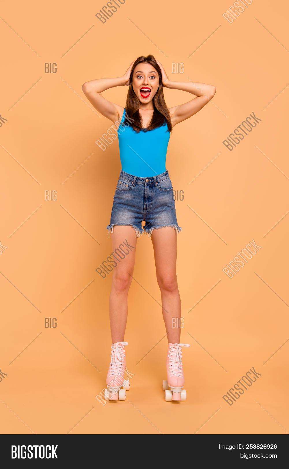 legs over her head