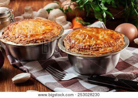Fresh Beef Stew Pie