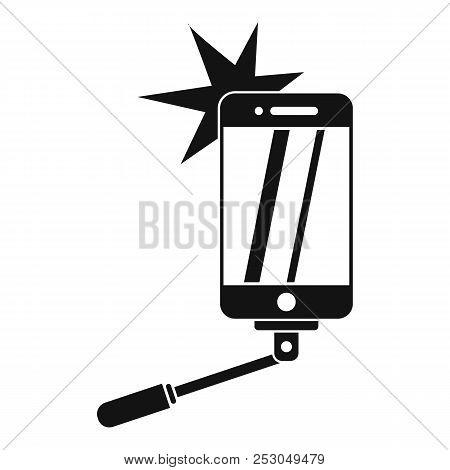 Take Selfie Icon. Simple Illustration Of Take Selfie Icon For Web Design Isolated On White Backgroun