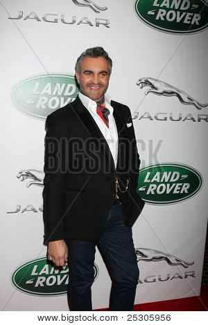 LOS ANGELES - NOV 15:  Martyn Lawrence-Bullard  at the Jaguar Pre LA Car Show Event at Two Rodeo on November 15, 2011 in Beverly Hills, CA