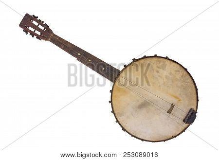 Vantage Banjo -  Rim Made From A Cornsifter