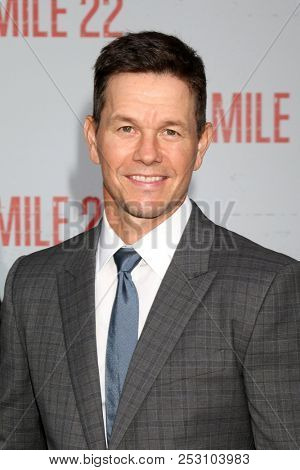 LOS ANGELES - AUG 9:  Mark Wahlberg at the