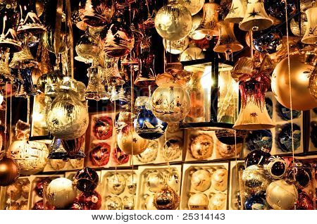 Golden Christmas Tree Decoration