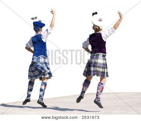 Highland Dancing Lassies
