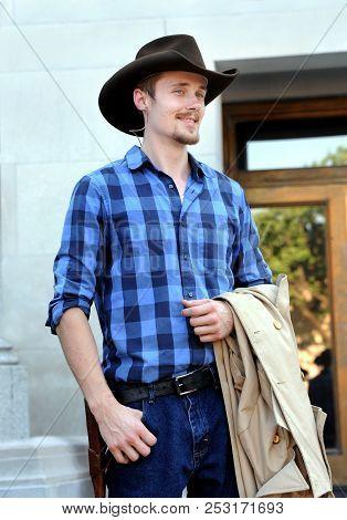 Cowboy Reenactor