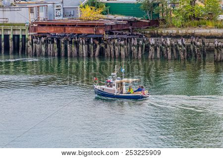 Boston, Massachusetts - September 18, 2014: The National Marine Manufacturers Association Identifies