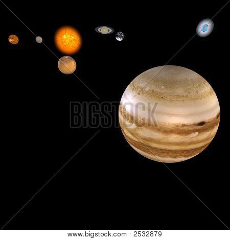 Solar System - Jupiter