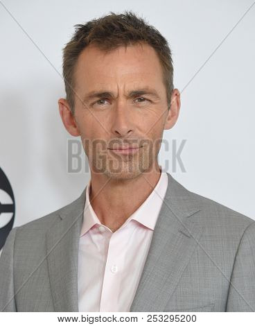 LOS ANGELES - AUG 07:  James Patrick Stuart arrives to the ABC TCA Summer Press Tour White Carpet Event  on August 7, 2018 in Hollywood, CA