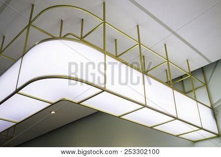 Modern Style Counter Bar Box Light, Stock Photo
