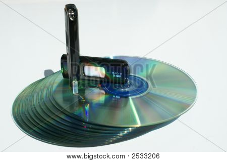 Usb'S Over Cd'S Tower