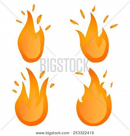 The Set Fire Logo. Red, Yellow Fire