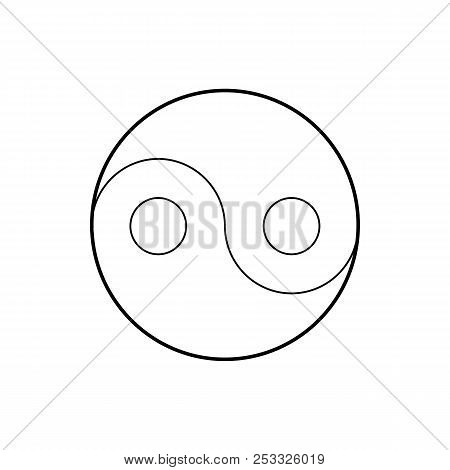 Yin Yang Symbol Icon Image Photo Free Trial Bigstock