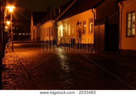 Small City Street