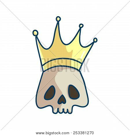 King Death Skull Vector Photo Free Trial Bigstock