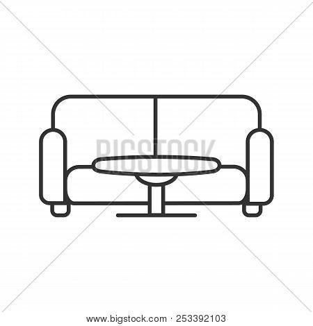 Astonishing Table Sofa Linear Vector Photo Free Trial Bigstock Cjindustries Chair Design For Home Cjindustriesco