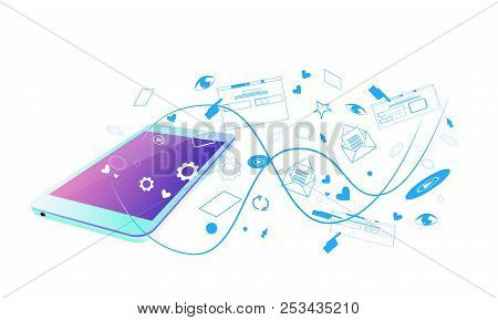 Web Browsing Mobile App Screen Synchronization Online Application Social Network Streaming Sketch Do