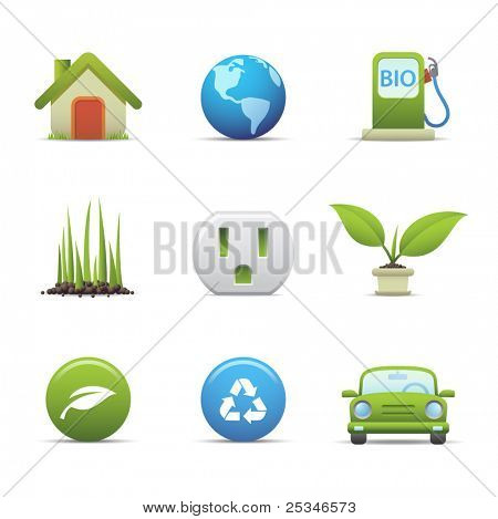 Eco icons set # 3 For similar images see my portfolio