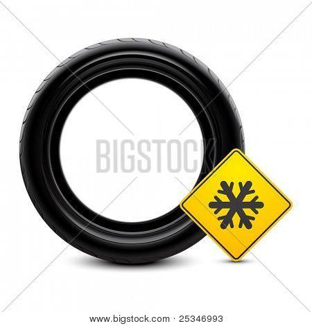 Winter tire icon