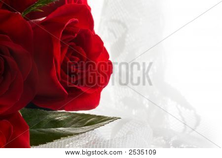Love, Red Roses And Lace