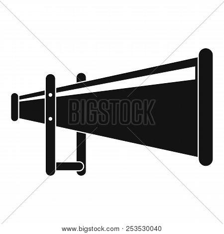 Portable Megaphone Icon. Simple Illustration Of Portable Megaphone  Icon For Web