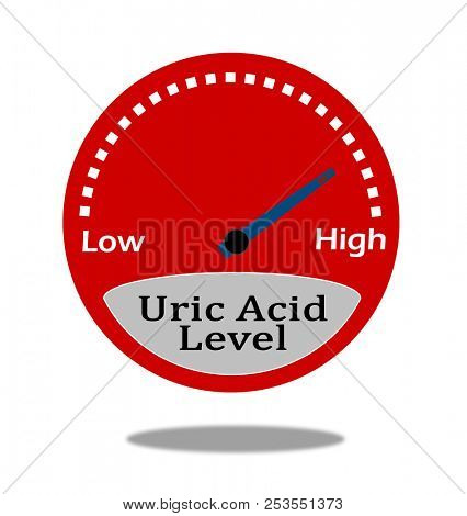 Uric Acid Level Indicator