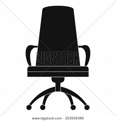 Director Chair Icon. Simple Illustration Of Director Chair  Icon For Web.