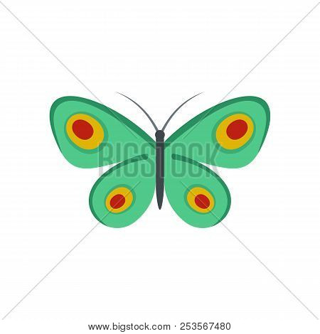 Unknown Butterfly Icon. Flat Illustration Of Unknown Butterfly  Icon Isolated On White Background