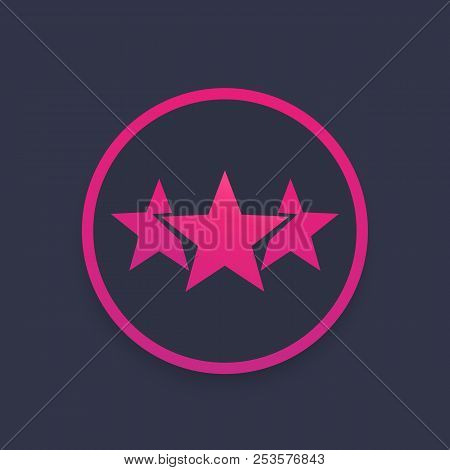 Ranking, Rating Vector Icon, Eps 10 File, Easy To Edit