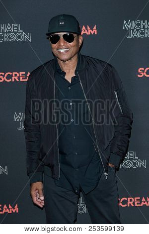 LOS ANGELES - OCT 24: Jackie Jackson at The Estate of Michael Jackson & Sony Music present Michael Jackson Scream Halloween Takeover at TCL Chinese Theatre IMAX on October 24, 2017 in Los Angeles, CA