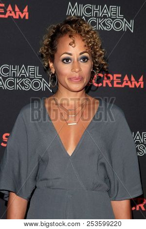 LOS ANGELES - OCT 24: Essence Atkins at The Estate of Michael Jackson and Sony Music present Michael Jackson Scream Halloween Takeover at TCL Chinese Theatre IMAX on October 24, 2017 in Los Angeles