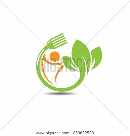 Farm Fresh Products Unique Sign Or Icon Image. Plant Sprout And Sun Symbol. Organic Farming Logo Des