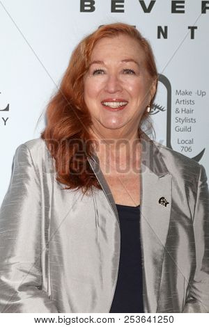LOS ANGELES - AUG 12:  Sue Cabral-Ebert at the Make-Up Artists And Hair Stylists Guild Reception at the Cal Mare Resturant at the Beverly Center on August 12, 2018 in Los Angeles, CA