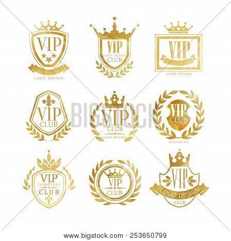 Vip Club Logo Design Vector Photo Free Trial Bigstock