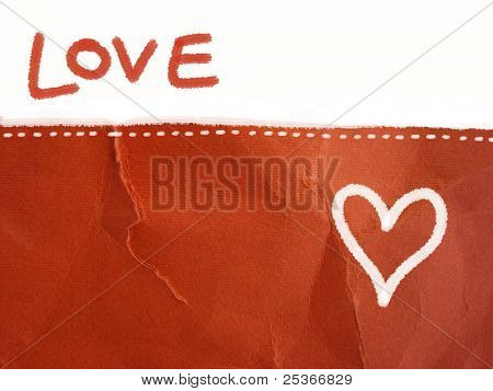 love letter - background