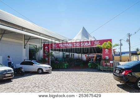 Entrance Of The Event Xiii Festival Do Soba In Campo Grande Ms