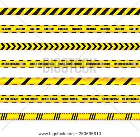 Vector Warn Ribbons Vector Photo Free Trial Bigstock