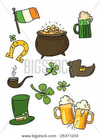 St. Patrick's Day, Irish icon