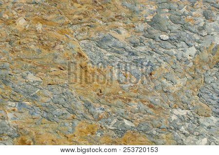 Background Of The Micro-brown Texture Of Ferruginous Dark Gray Mudstone