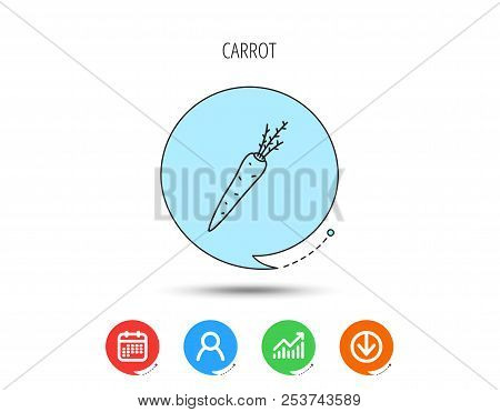 Carrot Icon Vector Photo Free Trial Bigstock