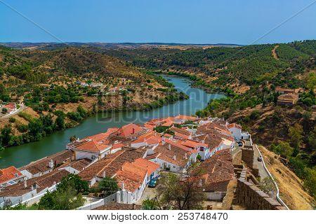 Mertola Village In Portugal