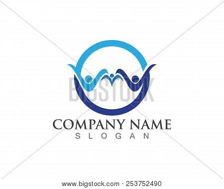 Family Care Logos Vector Photo Free Trial Bigstock