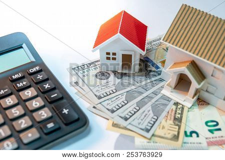 Real Estate Or Property Development. Construction Business Investment Concept. Home Mortgage Loan Ra